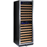 Wine Enthusiast® Classic 166 Dual-Zone Wine Cellar