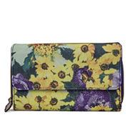 Mundi® Big Fat Exotic Floral Wallet