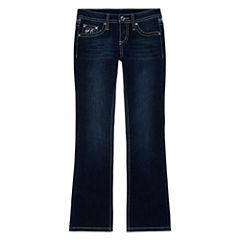 Arizona Embellished-Back-Pocket Jeans - Girls 7-16 and Plus