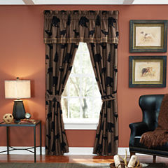 Croscill Classics® Shadow Bears 2-Pack Rod-Pocket Lined Curtain Panels