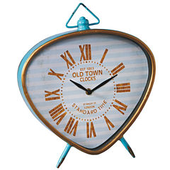 Large Retro Desk Clock