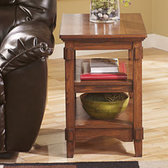 Signature Design by Ashley® Cross Island Chairside Table