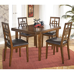 signature design by ashley ashland 5 pc dining set. Interior Design Ideas. Home Design Ideas