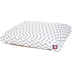 Majestic Pet Zig-Zag Rectangular Bed