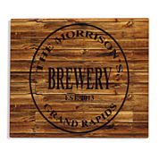 Personalized Brewery Aluminum Bar Sign