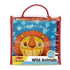 Melissa & Doug® Wild Animals Soft Activity Book
