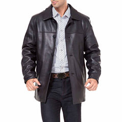 Samuel Leather Car Coat Big and Tall