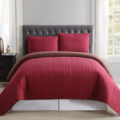 Truly Soft Reversible Quilt Set
