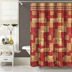 Duck River Dakina Printed Shower Curtain With Hooks