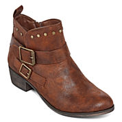 a.n.a® Archer Studded Booties