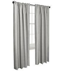 Josephine Faux Silk Thermal Shield Curtain Panel