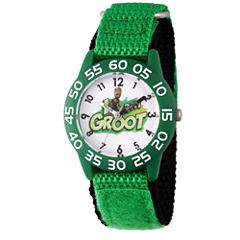 Guardian Of The Galaxy Marvel Boys Green Strap Watch-Wma000127