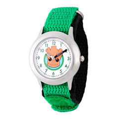 Guardian Of The Galaxy Marvel Boys Green Strap Watch-Wma000131