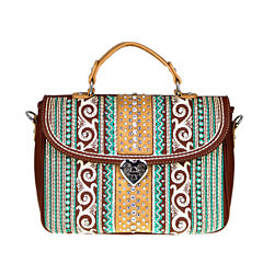 Montana West Mia Embroidery Satchel