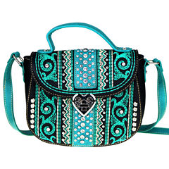 Montana West Anna Embroidery Crossbody Bag