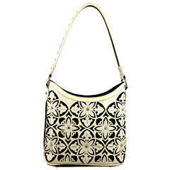 Montana West Julia Laser-Cut Hobo Bag