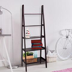 5-Shelf Ladder Bookcase