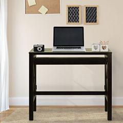 Montego Folding Desk with Pullout Shelf