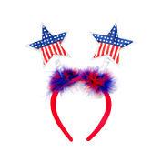 Mixit™ Puff Flag Star Patriotic Headband