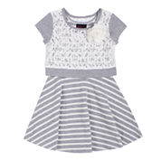 Girls Rule® Popover Dress - Toddler Girls 2t-4t
