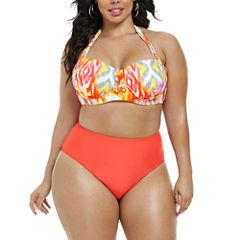 Fashion To Figure Santa Cruz Halter Bikini Top-Plus