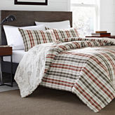 Eddie Bauer Point Permit Plaid Duvet - Sham Set
