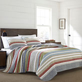 Eddie Bauer Salmon Ladder Stripe Quilt - Sham Set
