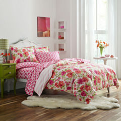 Poppy & Fritz Buffy Bedding Collection Floral Reversible Comforter Set