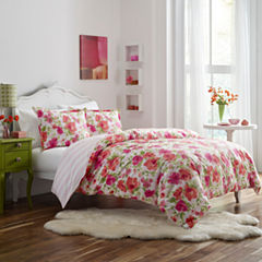 Poppy & Fritz Poppy & Fritz Buffy Bedding Collection 2-pc. Floral Duvet Cover Set