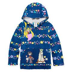 Disney Girls Tangled Fleece Jacket-Big Kid