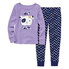 Okie Dokie® Nap Queen 2-pc. Sleep Pants Set - Preschool Girls 4-6x