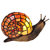 Dale Tiffany™ Tiffany Snail Accent Lamp