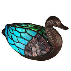 Dale Tiffany™ Blue Duck Accent Lamp