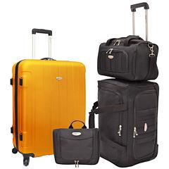 Traveler's Choice® Rome 4-pc. Nested Luggage Set