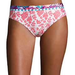 Social Angel Floral Hipster Swimsuit Bottom-Juniors