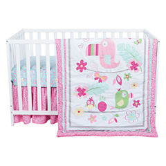 Trend Lab Tropical Tweets 3-pc. Crib Bedding Set
