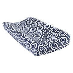 Trend Lab Hexagon Plush Changing Pad Cover