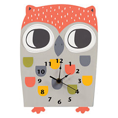 Trend Lab Olive Owl Wall Clock