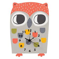 Trend Lab Olive Owl Wall Clock