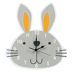 Trend Lab Bunny Wall Clock