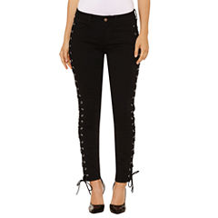 Bold Elements Lace Up Skinny Jeans