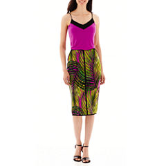 Worthington® Blocked Cami or Tipped Pencil Skirt - Tall