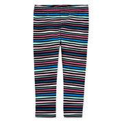 Okie Dokie Stripe Leggings - Baby Girls newborn-24m
