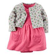 Carter's® 2-pc. Floral Dress Set - Baby Girls newborn-24m