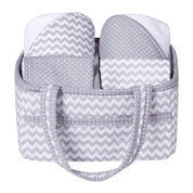 Trend Lab® Chevron 5-pc. Baby Bath Gift Set
