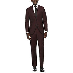 JF J. Ferrar® Enlightened Merlot Suit Separatess - Slim Fit