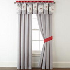 Home Expressions™ Julia 2-pk. Rod-Pocket Curtain Panels