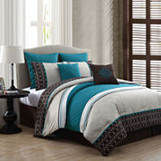 Avondale Manor Phyllis Reversible 8-pc. Comforter Set