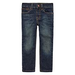 Arizona Boys Straight-Leg Denim - Toddler 2T-5T
