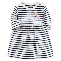 Carter's Long Sleeve Dress Set - Baby Girls